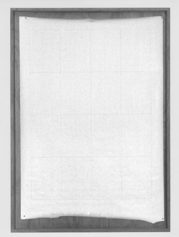 Claude Closky under construction \u003e 16 feuilles de papier format A4 - A4 Sheet Size